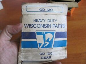 NOS Wisconsin GD120 V465D Accessory Drive Gear