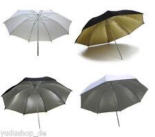 4 tlg.reflex/Ombrello Trasparente, Bianco/Argento/Nero / oro