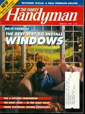 1990 Family Handyman Magazine: Install Windows/Tile a Kitchen Countertop