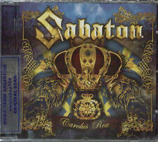SABATON CAROLUS REX + BONUS TRACK SEALED CD NEW 2012