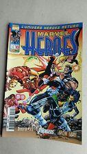 MARVEL HEROES  ,Marvel France ,panini Comics ,état neuf ,numéro = 10