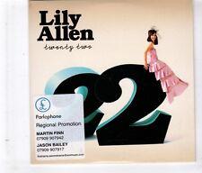 (HL139) Lily Allen, Twenty Two - 2009 DJ CD