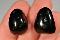 2 *TEKTITE* Tumbled Stones 2cm 9g Natural Healing Crystals, Empowering