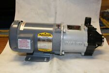 Iwaki Centrifugal Magnet Pump MDH2-6CV6,1/2HP, Baldor Motor 208/230,460 V
