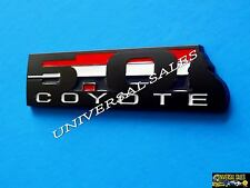 5.0 COYOTE BLACK MUSTANG F150 BOSS 302 FRONT GRILLE EMBLEM BADGE BRAND NEW