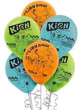 Disney Lion Guard Latex Balloons Birthday Party Supplies Decoration ~ KION ~ 6ct