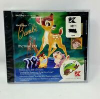 Disney Bambi 1996 K-Mart picture CD RARE OOP Hunchback Mary Poppins limited