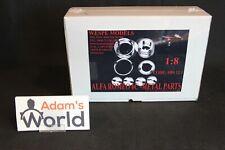 Wespe Models, Metal wheel upgrade set Rolls-Royce (4 metal wheels) 1:8