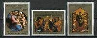 38086) Congo Rep.1985 MNH Christmas '84 3v Del Tailors, Paintings