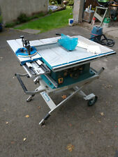 Makita MLT100 240V Table Saw with JM27000300 rolling stand