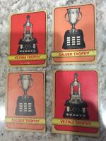 1972-73 O-PEE-CHEE NHL HOCKEY CARDS - ASSORTED TROPHY LOT