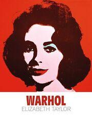Andy Warhol - Liz, 1963 Pop Art Print Elizabeth Taylor Poster 24x30