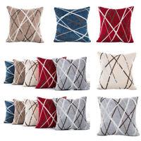 Simplicity Polyester Cushion Cover Sofa Throw Pillow Case Home Decor Square