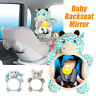 Cartoon Baby Back Seat Mirror for Car View Infant in Rear Facing Car Seat Safety