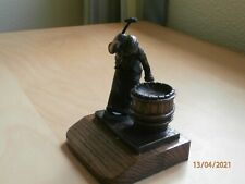 New Cold Painted Bronze Statue - Small Burton Cooper by Genesis - Unwanted Gift