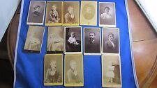 lot 13 photos cdv antique picture lyon bellingard albumen print portrait