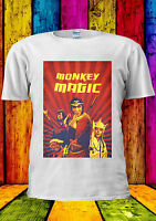 Monkey Magic Retro Kung Fu 70's 80's T-shirt Vest Tank Top Men Women Unisex 2160