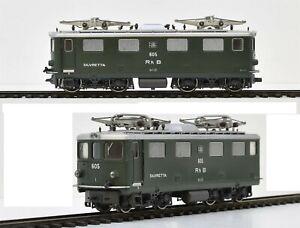 Bemo Swiss Electric Locomotive Ge 4/4 I 605 of the RHB