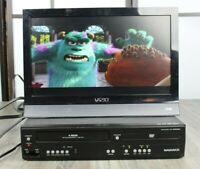Magnavox DV220MW9 VHS/VCR Video Cassette Recorder/DVD Player Combo FOR REPAIR