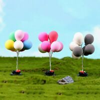 1:12 /1:6 Dollhouse Miniature Scene Model Balloons Pretend Play Toy
