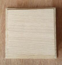 Wooden display base 4 inch display size made from solid oak