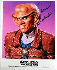"Armin Shimerman as Quark Autographed 8""X10"" Photo - Star Trek Deep Space Nine"
