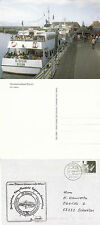 GERMAN PASSENGER SHIP MS OL BUSUM A SHIPS CACHED COVER & POSTCARD