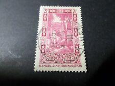 ALGERIE, 1936-37, timbre 122, PAYSAGES, oblitéré, cachet rond VF used stamp