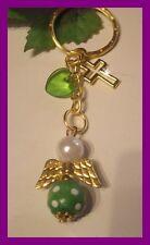 Sonstige Luxus-accessoires Schlüsselanhänger Taschenbaumler Schutzengel Engel Gold Gelb Handgefertigt
