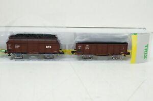 "Spur N--TRIX - 15260 ..Güterwagen-Set ""Kokstransport""  ..OVP ..G2 /62"