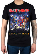 Official Iron Maiden Legacy Of The Beast T-Shirt Final Frontier Killers Merch
