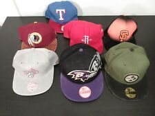 Lot of 6 Nfl New Era Hats and one other