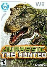 Jurassic: The Hunted  --  Nintendo Wii Game Disc Only Excellent Cond. EUC