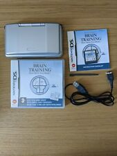 Nintrndo DS Grey Phat/Fat, working, Original handheld with game & USB charger