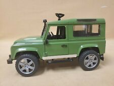 Bruder Land Rover Defender SUV Toy Vehicle Made in Germany 2010 Green
