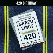 Greeting Cards-420 Birthday