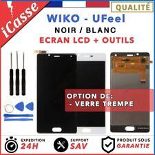 Ecran LCD + tactile assemblés Wiko Ufeel U Feel NOIR / BLANC / Outils / Verre
