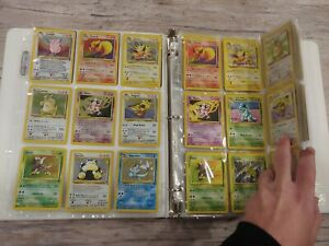 Near Full Complete Jungle Set Pokemon Cards Collection Lot Wotc Base rare Holo