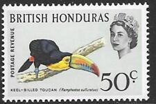 BRITISH HONDURAS SG210 1962 50c BIRD  MNH