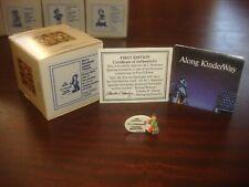 Goebel Olszewski KinderWay Miniatures Merry Wanderer Dealer Plaque 280-P Nib