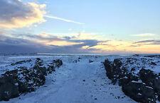 Framed Print - Eurasian & American Tectonic Plates Iceland (Picture Viking Art)