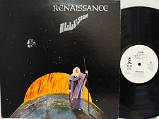 RENAISSANCE - Illusion LP (RARE Japanese White Label PROMO w/Original Cover)