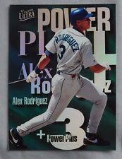 1997 Fleer Ultra Power Plus Alex Rodriguez Seattle Mariners Baseball Card