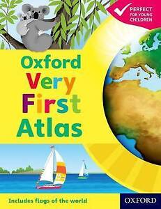 Oxford Very First Atlas by Oxford University Press (Hardback, 2011)