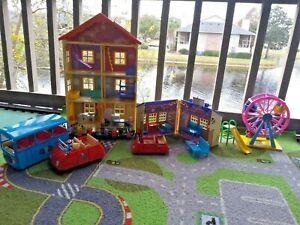 Peppa Pig House School Car Furniture Action Figures Huge Toy Lot