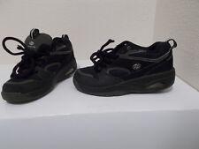 Boys Mens Heelys #7170 Black Sneakers Skate Shoes Sz 5