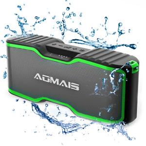 AOMAIS Sport II Plus Bluetooth Speaker Portable Outdoor Wireless Waterproof 30HR