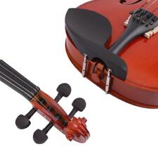 4/4 High Grade Solid Wood Handmade Acoustic Violin Fiddle With Carry Case MT