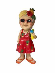 Mini holiday grandma Gnome Outdoor Novelty Garden Patio Decor Ornament