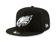 Era 59fifty Team Headwear NFL Philadelphia Eagles Fitted Hat Sz 7 1/8